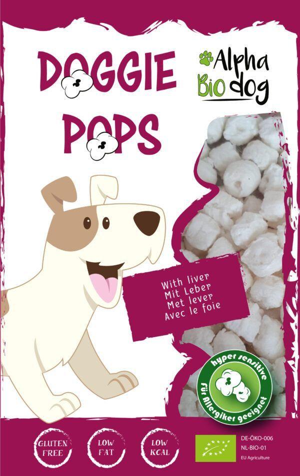 Alpha Bio Dog ABD Doggie Pops mit Leber 10x30g