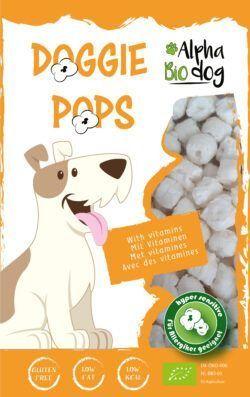 Alpha Bio Dog ABD Doggie Pops mit Leber und Vitaminen 10x30g
