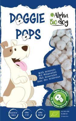Alpha Bio Dog ABD Doggie Pops mit Leber und Mineralien 10x30g