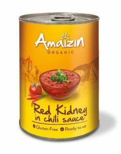 Amaizin Rote Kidneybohnen in Chilisauce 6x400g