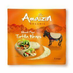 Amaizin Tortilla wraps 16x240g