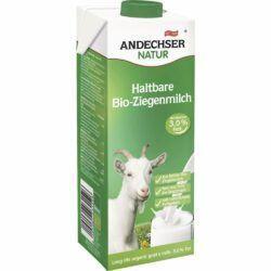 Andechser Natur Bio Ziegen-H-Milch 3,0% 12x1l