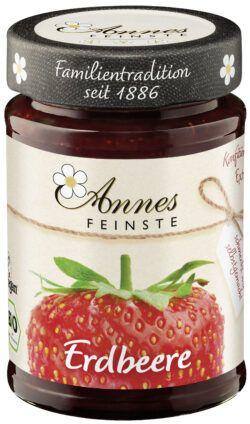 Annes Feinste Bio Erdbeer Konfitüre extra 6x225g