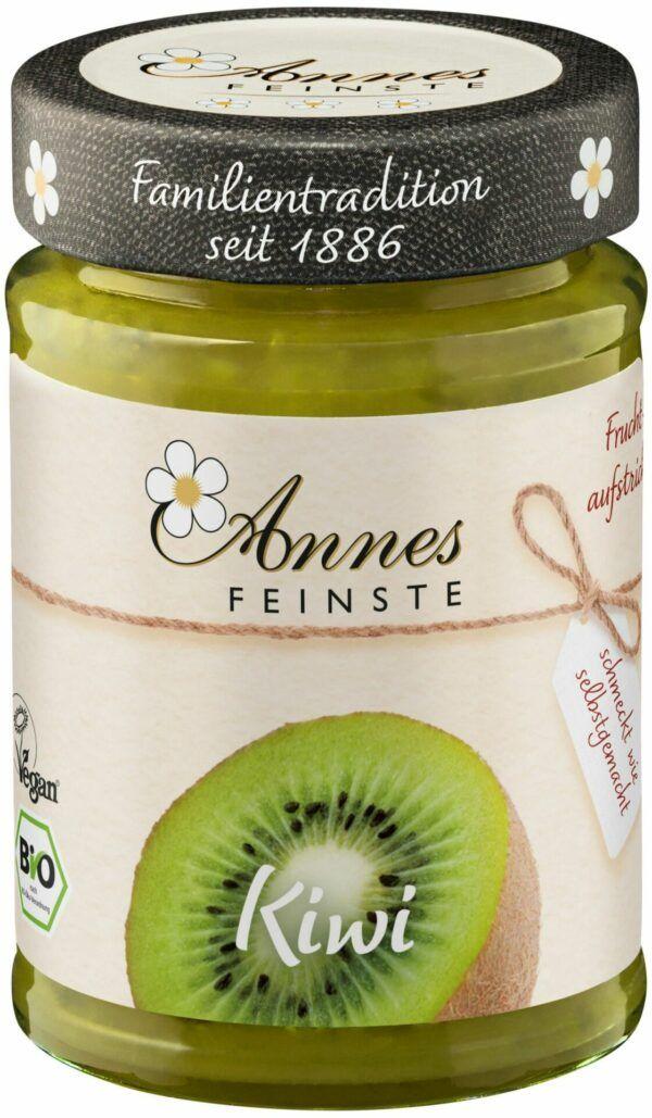 Annes Feinste Bio Kiwi Fruchtaufstrich 6x210g