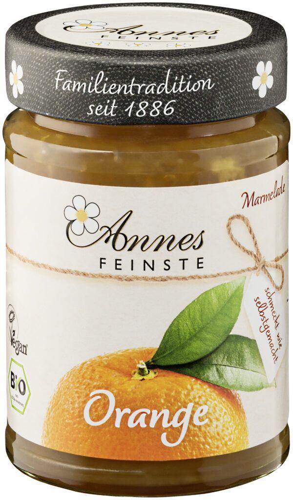 Annes Feinste Bio Orangen Marmelade 225g