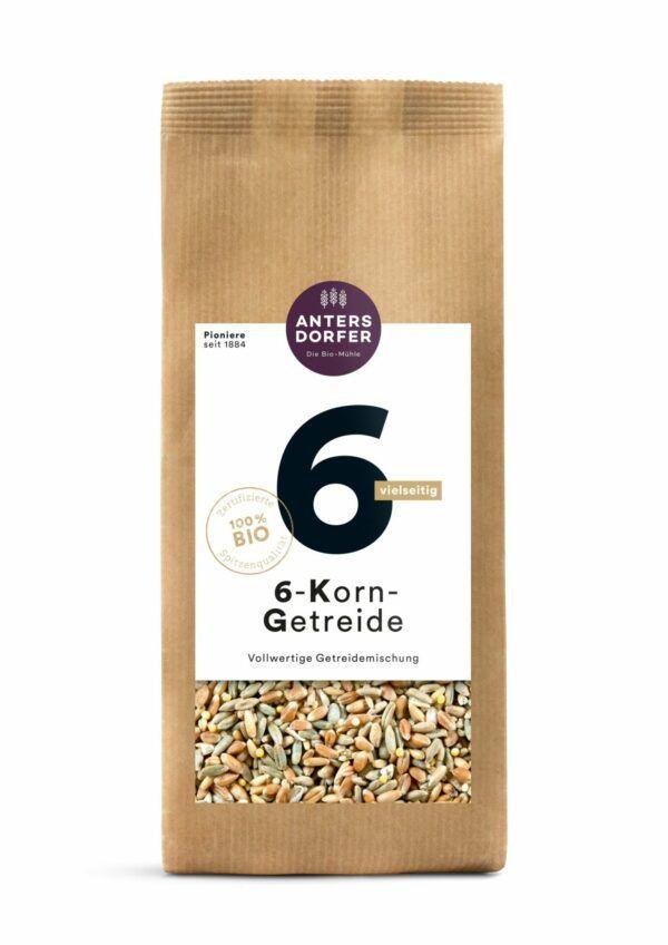 Antersdorfer - Die Bio-Mühle Bio 6-Korn-Getreide 6x500g