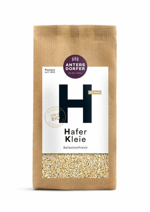 Antersdorfer - Die Bio-Mühle Bio Hafer Kleie (mit Keim) 6x500g
