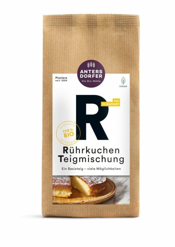 Antersdorfer - Die Bio-Mühle Bio Rührkuchen Teigmischung 6x630g