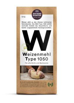 Antersdorfer - Die Bio-Mühle Bio Weizenmehl Type 1050 1kg