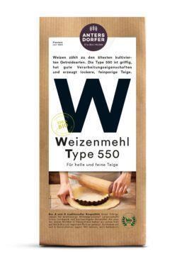 Antersdorfer - Die Bio-Mühle Bio Weizenmehl Type 550 6x1kg