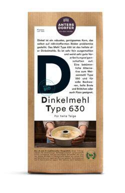 Antersdorfer - Die Bio-Mühle Bio Dinkelmehl Type 630 6x1kg
