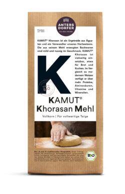 Antersdorfer - Die Bio-Mühle Bio KAMUT® Khorasan Mehl (Vollkorn) 6x1kg