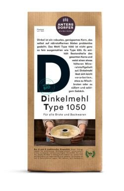 Antersdorfer - Die Bio-Mühle Bio Dinkelmehl Type 1050 6x1kg