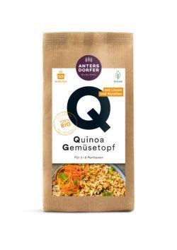 Antersdorfer - Die Bio-Mühle Bio Quinoa Gemüsetopf 6x150g
