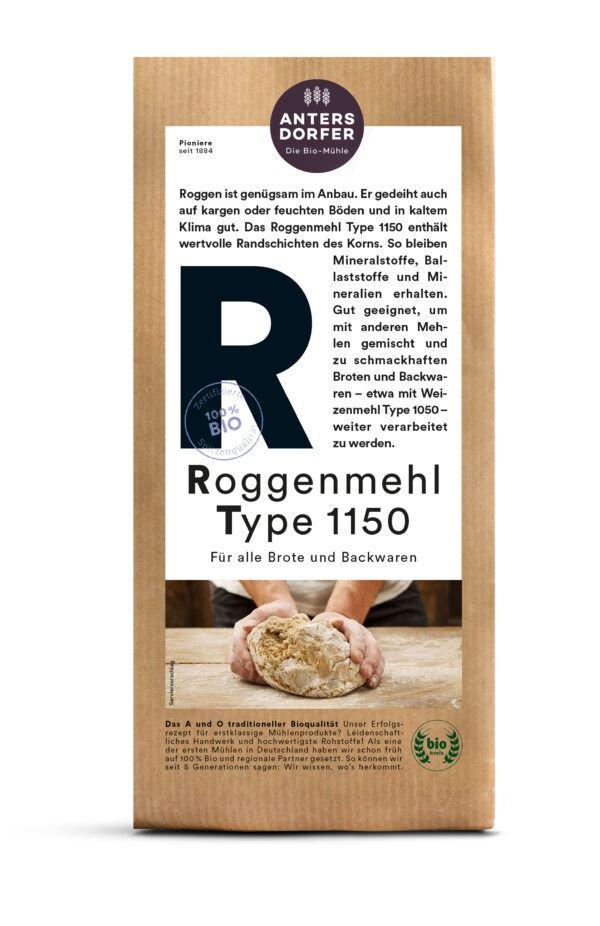 Antersdorfer - Die Bio-Mühle Bio Roggenmehl Type 1150 6x1kg