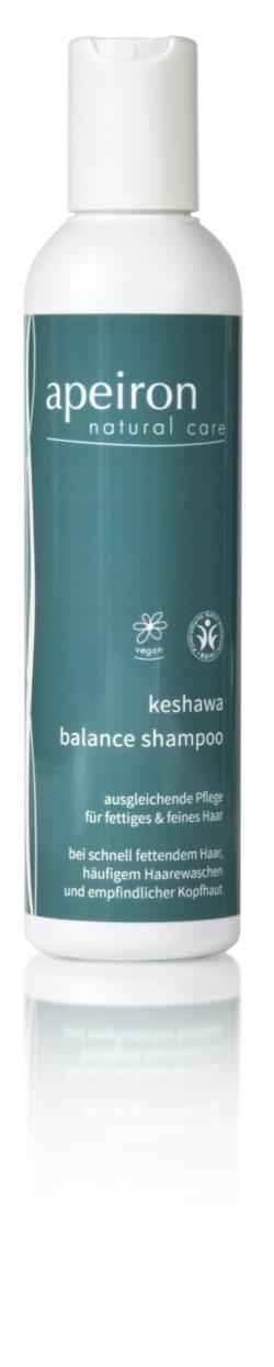 Apeiron Keshawa Balance Shampoo für fettiges und feines Haar 200ml