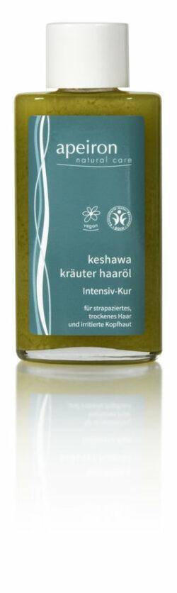 Apeiron Keshawa Kräuter Haaröl Intensiv-Kur für Haare & Kopfhaut 100ml