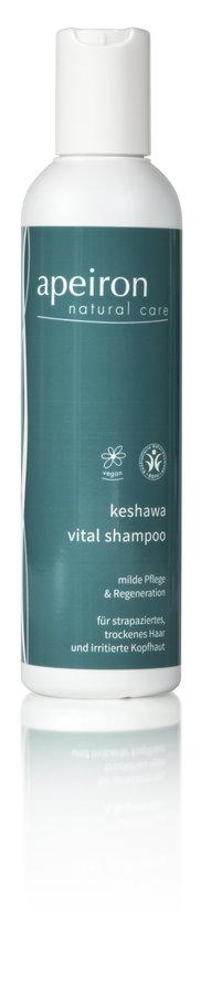 Apeiron Keshawa Vital Shampoo für trockenes und strapaziertes Haar 200ml