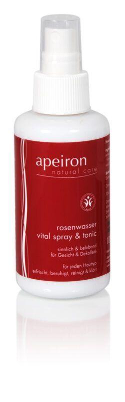 Apeiron Rosenwasser Vital Spray & Tonic 100ml