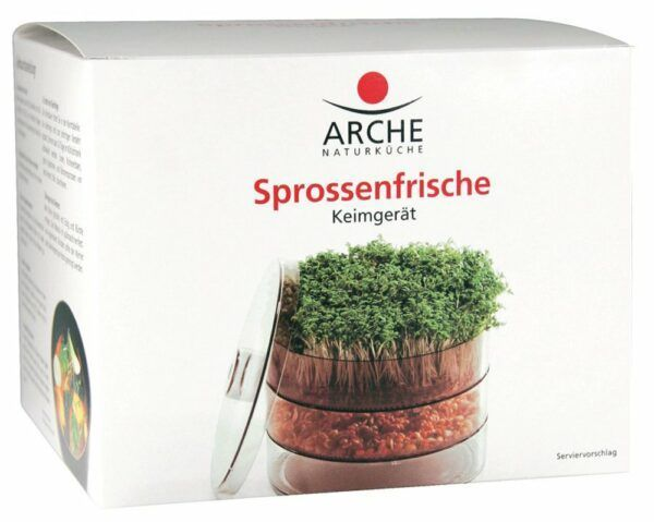Arche Naturküche Sprossenfrische Keimgerät 4x1Stück