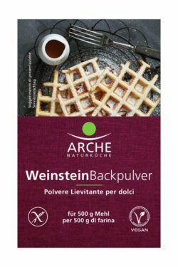 Arche Naturküche Weinstein Backpulver 3er, glutenfrei 15x54g