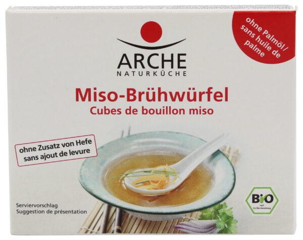 Arche Naturküche Miso-Brühwürfel 15x60g