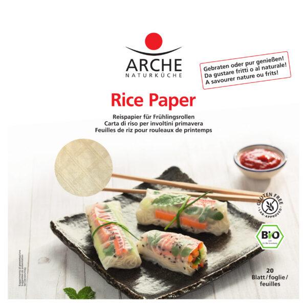 Arche Naturküche Rice Paper, Reispapier, glutenfrei 150g
