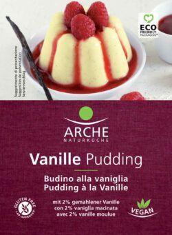 Arche Naturküche Vanille Pudding, glutenfrei 10x40g