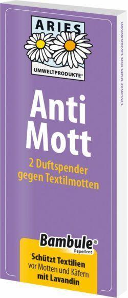 Aries Anti Mott Duftspender 2er Set 20x2Stück