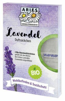 Aries Bio Lavendel Duftsäckchen 2Stück