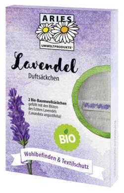 Aries Bio Lavendel Duftsäckchen 8x2Stück