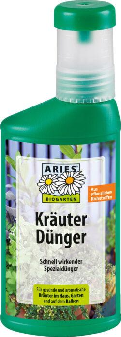 Aries Kräuterdünger, schnell wirkender Spezialdünger 6x250ml