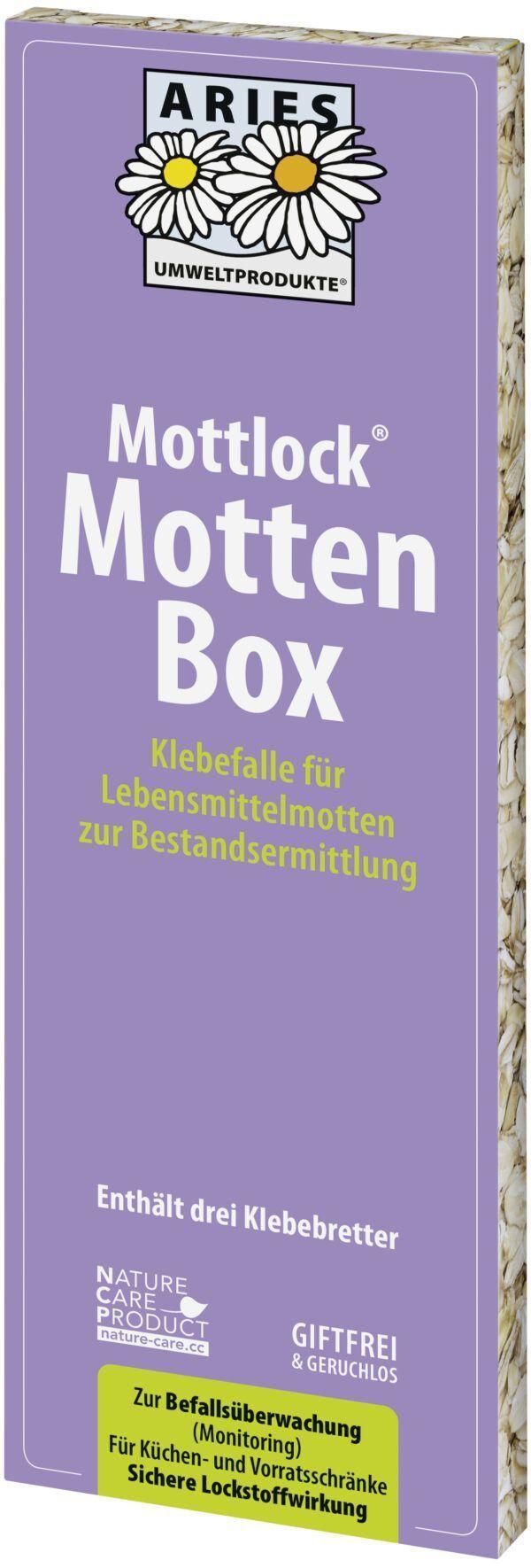 Aries Mottlock Mottenbox Lebensmittelmotten 6x1Stück