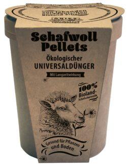 Aries Schafwollpellets ökologischer Universaldünger 6x450g