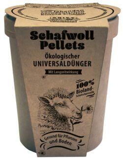 Aries Schafwollpellets ökologischer Universaldünger 450g