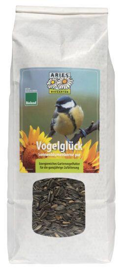 Aries Vogelglück Sonnenblumenkerne pur 6x1kg