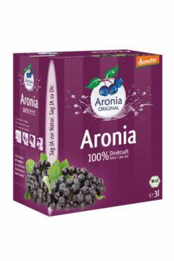 Aronia ORIGINAL Aronia Direktsaft 3l demeter FHM 3l
