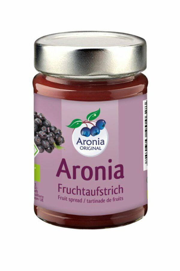 Aronia ORIGINAL Aronia Fruchtaufstrich 200g Bio FHM 12x200g