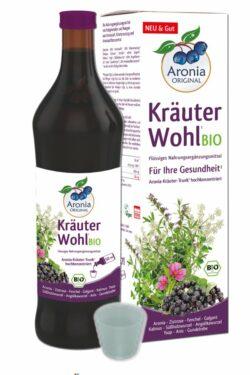 Aronia ORIGINAL Aronia KräuterWohl Bio NEM (flüssig) 6x0,7l