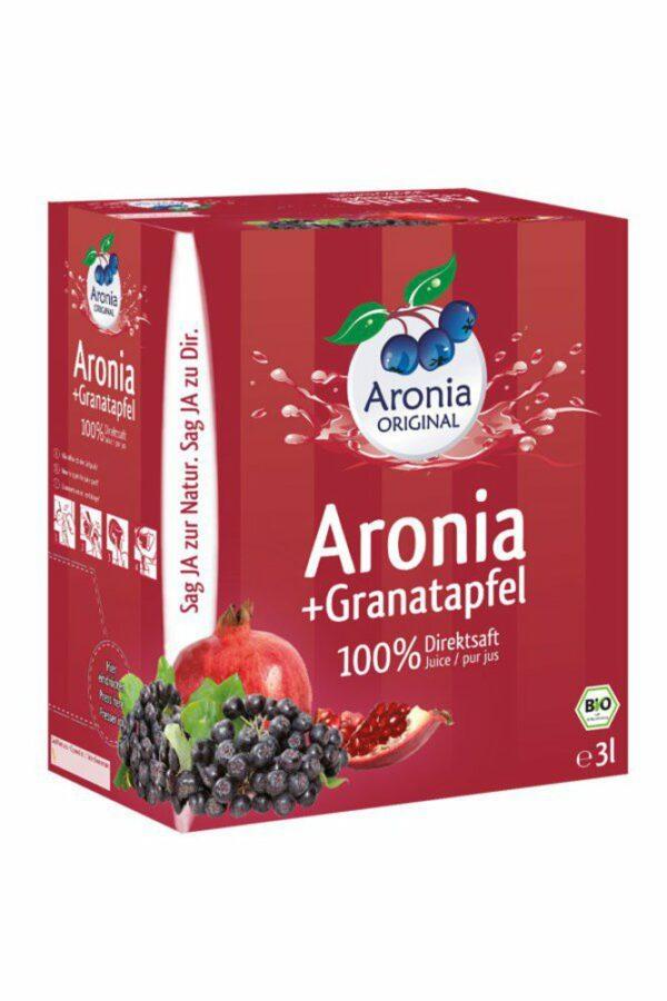 Aronia ORIGINAL Aronia+Granatapfel 100% Direktsaft 3l Bio FHM 3l