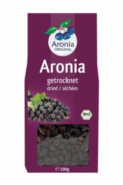 Aronia ORIGINAL Aroniabeeren getrocknet 200g Bio FHM 6x200g