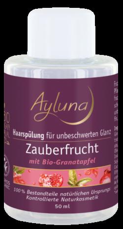 Ayluna Haarspülung Zauberfrucht für unbeschwerten Glanz mit Bio-Granatapfel 50ml