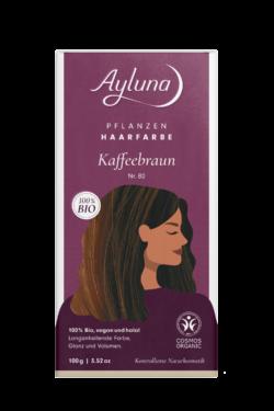 Ayluna Pflanzenhaarfarbe Nr. 80 Kaffeebraun 100g
