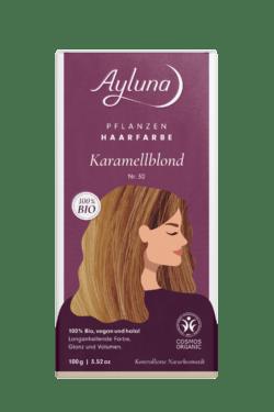 Ayluna Pflanzenhaarfarbe Nr. 30 Karamellblond 100g