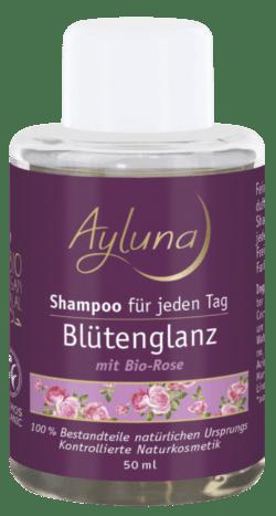 Ayluna Shampoo Blütenglanz für jeden Tag mit Bio-Rose 50ml