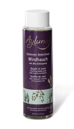 Ayluna belebender Badeschaum Windhauch mit Bio-Eukalyptus 400ml