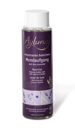 Ayluna entspannender Badeschaum Mondaufgang mit Bio-Lavendel 400ml