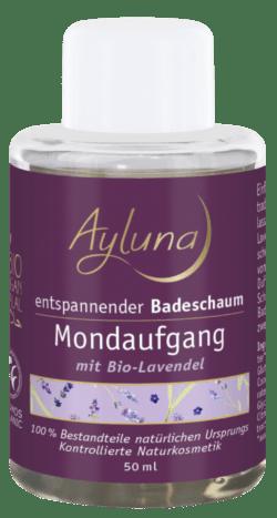 Ayluna entspannender Badeschaum Mondaufgang mit Bio-Lavendel 50ml