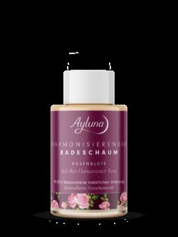 Ayluna harmonisierender Badeschaum Rosenblüte mit Bio-Damaszener Rose 50ml