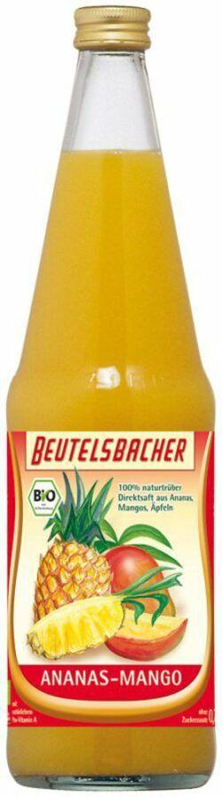 BEUTELSBACHER Bio Ananas-Mango Direktsaft 0,7l